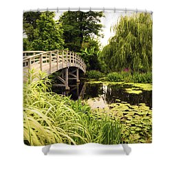 Bridge At Petersburg Shower Curtain