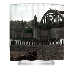 Bridge Deco Shower Curtain