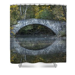 Bridge Of Anderson Road Shower Curtain