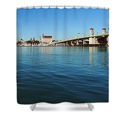 Shower Curtain featuring the photograph Bridge Of Lions, St. Augustine by Rod Seel