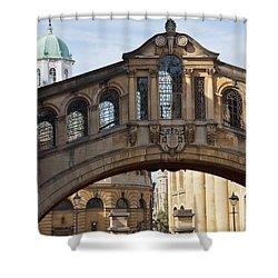 Bridge Of Sighs Oxford Shower Curtain
