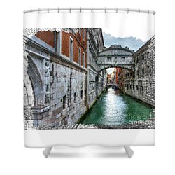 Bridge Of Sighs Shower Curtain