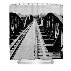 Bridge On The River Kwai Shower Curtain