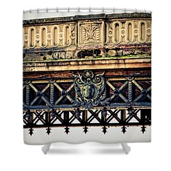 Bridge Ornaments In Germany Shower Curtain