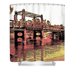 Bridge Over Murray River Shower Curtain