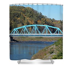 Bridge Over Rondout Creek 2 Shower Curtain