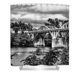 Bridge Over The Coosa Shower Curtain