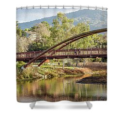 Bridge Over The Creek Shower Curtain