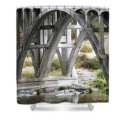 Bridge Over Umpqua Shower Curtain