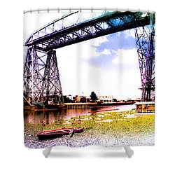 Bridge Shower Curtain