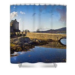 Bridge To Eilean Donan Shower Curtain by Gary Eason