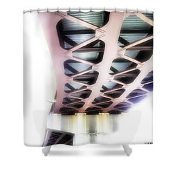 Shower Curtain featuring the photograph Bridge To Eternity by Brian Wallace