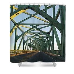 Bridge To Oregom Shower Curtain
