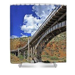 Bridge To Yesteryear Shower Curtain