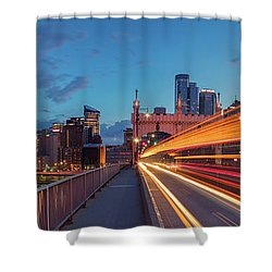 Bridge Trails  Shower Curtain