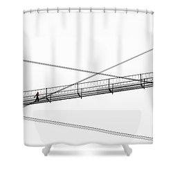 Bridge Walker Shower Curtain