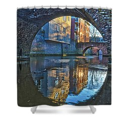Bridges Across Binnendieze In Den Bosch Shower Curtain