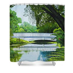 Bridges Of Forest Park IIi Shower Curtain