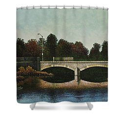 Bridges Of Forest Park Iv Shower Curtain