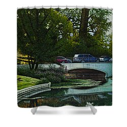 Bridges Of Forest Park V Shower Curtain