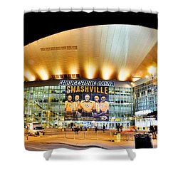 Bridgestone Arena Shower Curtain
