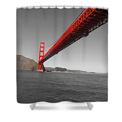 Bridgeworks Shower Curtain