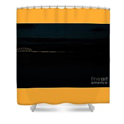 Bridging The Columbia River Shower Curtain