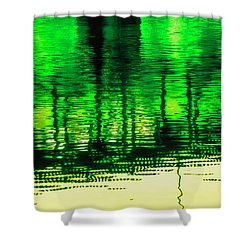 Bridging The Waters Shower Curtain