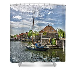 Brielle Harbour Shower Curtain