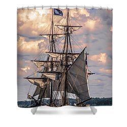 Brig Niagara I Shower Curtain