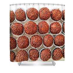 Brigadeiro Shower Curtain by Beto Machado