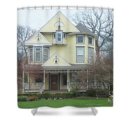 Bright And Cheery Shower Curtain by Kathie Chicoine