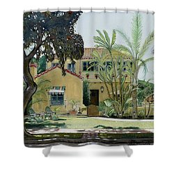 Bright And Sunny Shower Curtain