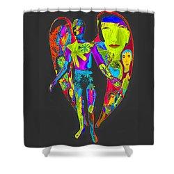 Bright Angel Shower Curtain
