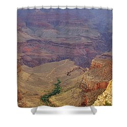 Bright Angel Trail Shower Curtain