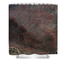 Bright Angel Trails Off Shower Curtain by William Fields