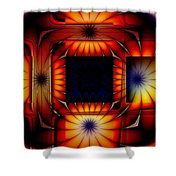 Bright As Can Be Shower Curtain