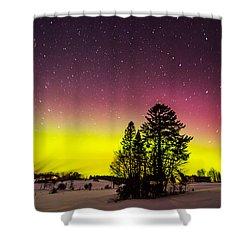 Bright Aurora Shower Curtain