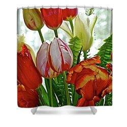 Bright Bouquet Shower Curtain