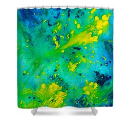 Bright Day In Nature Shower Curtain
