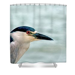 Bright Eyes Closeup Shower Curtain