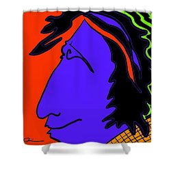 Bright Guy Shower Curtain