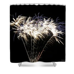 Bright Lights Shower Curtain by Phill Doherty