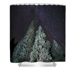 Bright Night Shower Curtain by Jeff Kolker