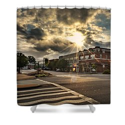 Bright Sun In Murphy North Carolina Shower Curtain