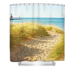 Shower Curtain featuring the photograph Bright Sunshiny Day by Kathi Mirto