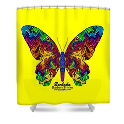 Shower Curtain featuring the digital art Bright Transformation by Barbara Tristan