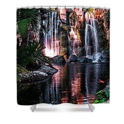 Bright Waterfalls Shower Curtain