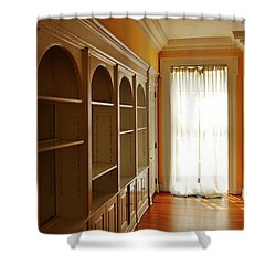 Shower Curtain featuring the photograph Bright Window by Zawhaus Photography