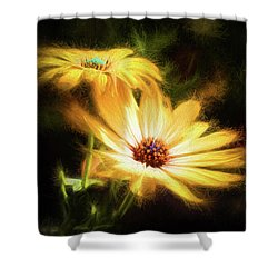 Brightest Sun Shining Shower Curtain